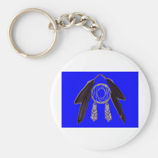 culture basic round button key ring
