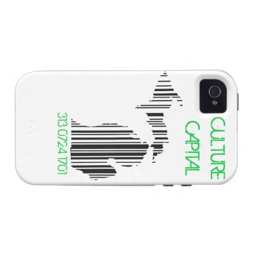 CULTURE CAPITAL IPHONE CASE iPhone 4 COVER