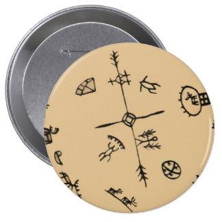 Culture - Sami - 10 Cm Round Badge