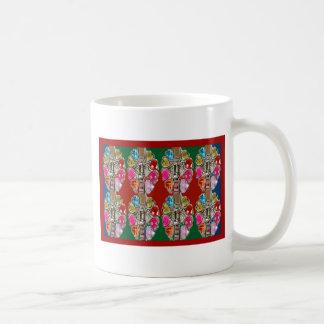 CULTURE Theme Wedding Jewel Colorful USA NewJersey Coffee Mugs