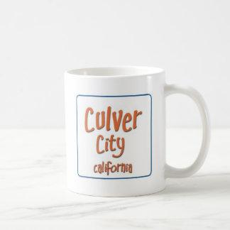 Culver-City California BlueBox Basic White Mug