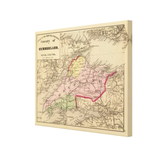 Cumberland Co, NS Stretched Canvas Prints