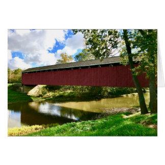 Cumberland Covered Bridge Card