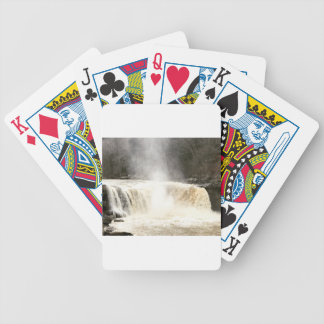 Cumberland Falls Big South Fork Kentucky Bicycle Playing Cards