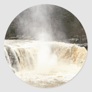 Cumberland Falls Big South Fork Kentucky Classic Round Sticker