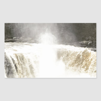 Cumberland Falls Big South Fork Kentucky Rectangular Sticker