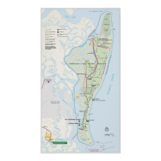 Cumberland Island National Seashore Poster
