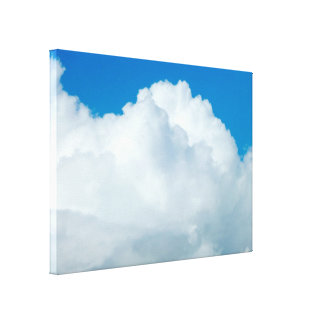 Cumulonimbus Clouds Gallery Wrap Canvas
