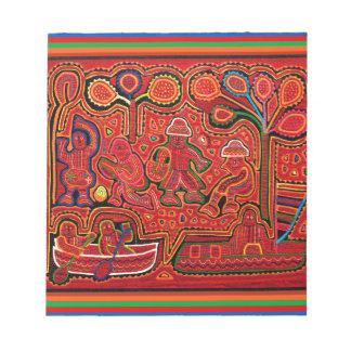 Cuna Indian Men in Cayucos Notepads