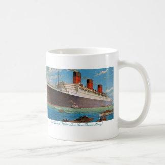 Cunard White Star Line's Queen Mary Basic White Mug