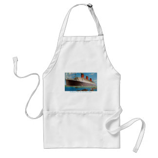 Cunard White Star Line's Queen Mary Standard Apron