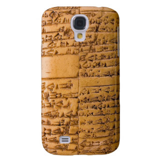 Cuneiform Tablet Galaxy S4 Covers