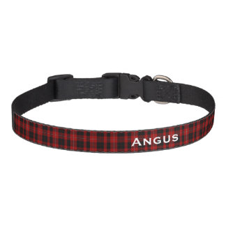 Cunningham Classic Tartan Plaid Custom Dog Collar