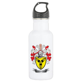 Cunningham Family Crest Coat of Arms 532 Ml Water Bottle