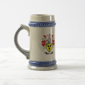 Cunningham Family Crest Coat of Arms Beer Stein