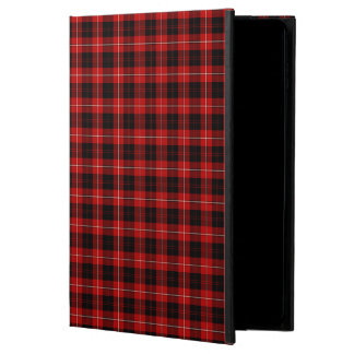Cunningham Family Red and Black Clan Tartan Powis iPad Air 2 Case