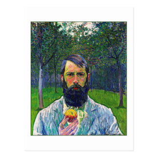 Cuno Amiet (Self-Portrait) Postcard