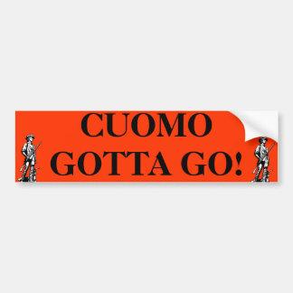 Cuomo Gotta G0 Bumper Sticker
