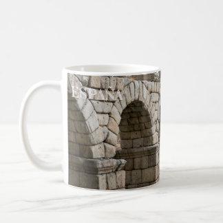 cup aqueduct of Segovia in Spain