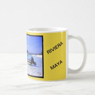 Cup beach of Akumal the Maya Riviera