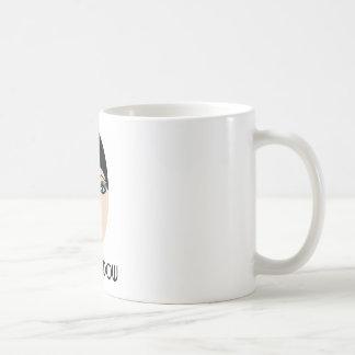 Cup black widow basic white mug