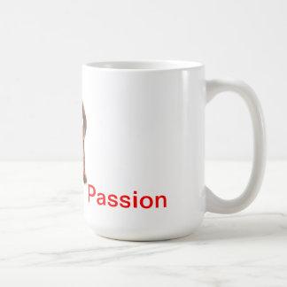 Cup breakfast Dachshund Passion Basic White Mug