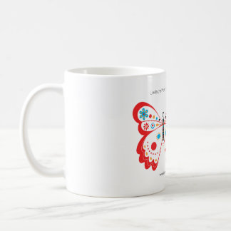 Cup Butterfly Here and Now