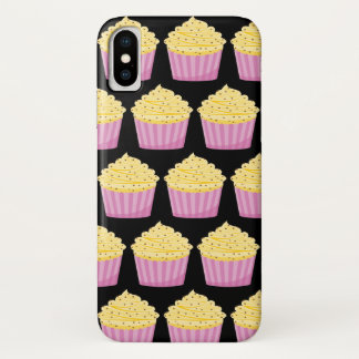 Cup Cake and Hearts iPhone X Case