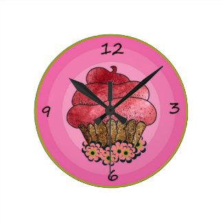 Cup Cake Clock