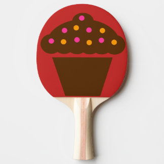 cup cake ping pong paddle