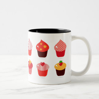 Cup Cake Two-Tone Mug