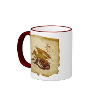 Cup Chinese dragon Coffee Mugs
