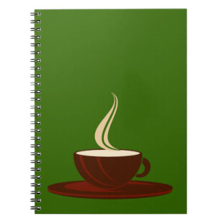 Cup coffee cup coffee notebook