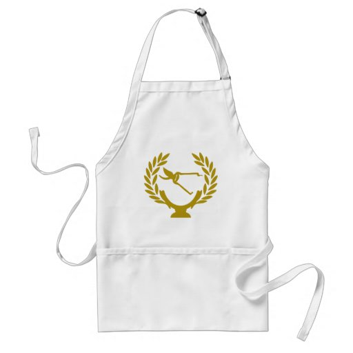 Cup-crown-agry-scissors Apron