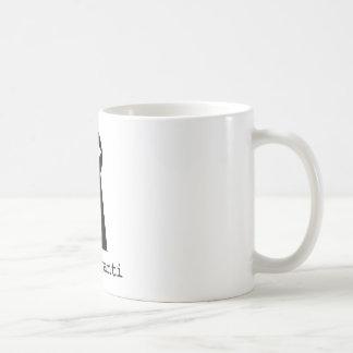 Cup eye basic white mug