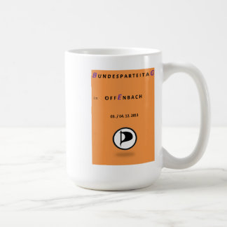 Cup - Federal Party Congress D. Pirate f. BGE supp Basic White Mug