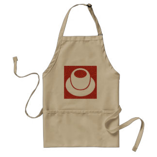 Cup Fumes Minimal Adult Apron