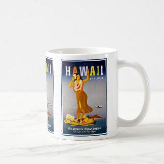 Cup-Hawaii Vintage Advertisement Coffee Mugs