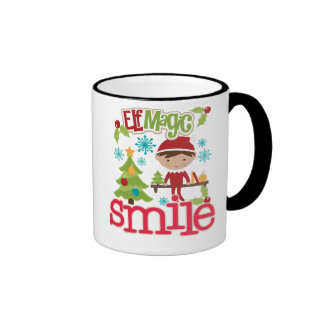 Cup in two colors of Christmas Coffee Mug