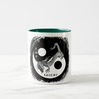 cup logo dragoon taichi Two-Tone mug