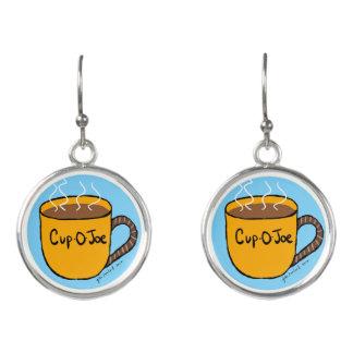 Cup-O-Joe Fashion Earrings by Julie Everhart