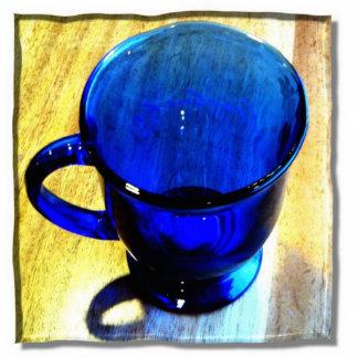 """Cup O' Joe"" photo sculpture magnet"
