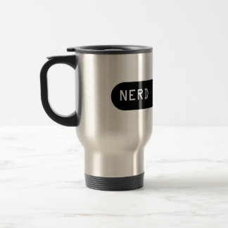 Cup o' Nerd Fuel Stainless Steel Travel Mug