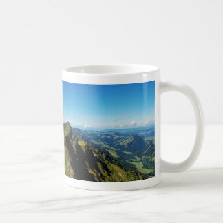 Cup of alps with upper baptism in the Allgäu Basic White Mug