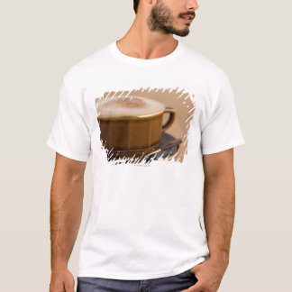 Cup of cappuccino with cocoa powder T-Shirt