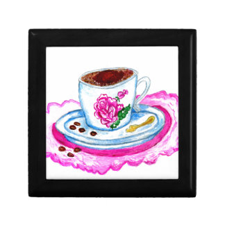 Cup of Coffee Art Gift Box