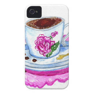 Cup of Coffee Art iPhone 4 Case-Mate Case