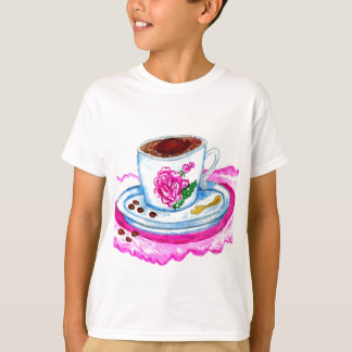 Cup of Coffee Art T-Shirt