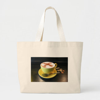 Cup of Coffee Tote Bags