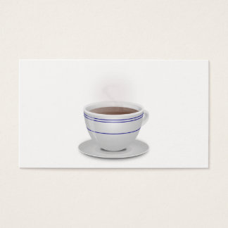 Cup of Coffee Business Card